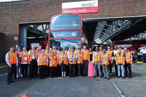 Walworth depot celebrated Year of the Bus with the community
