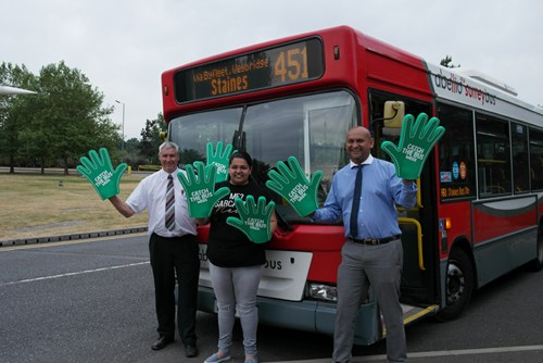 'Catch the Bus Week' success for Abellio Surrey