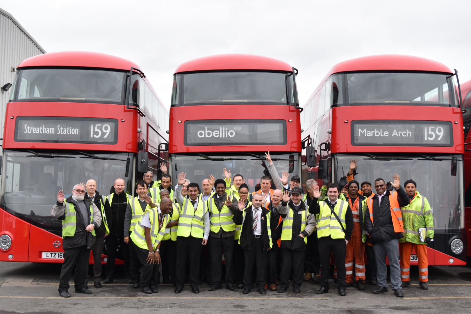 Abellio London now operates route 159