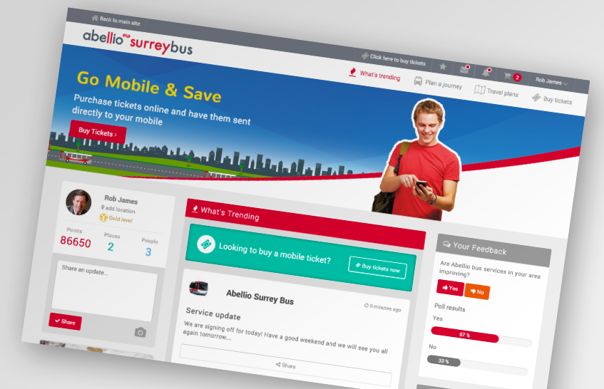 New mobile ticket website launched