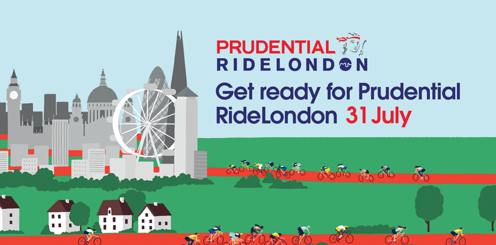 Prudential ride london cycling events