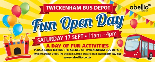 Twickenham Depot Open Day