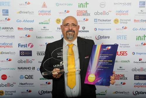 Abellio success at 2017 UK Bus Awards