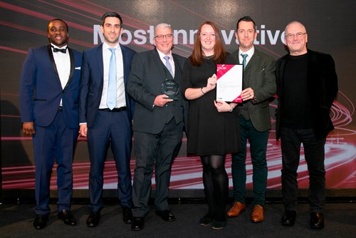 Abellio wins award for Most Innovative Transport Project at 2019 London Transport Awards