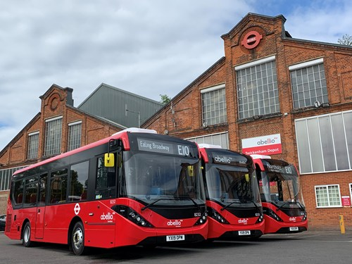 Abellio commence operation of routes E10 & E11