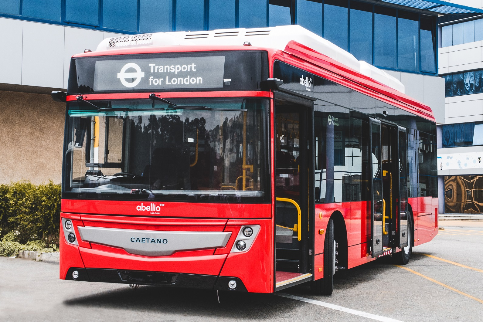 Abellio London Bus orders 34 CAETANO electric buses for its TfL operation