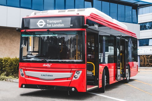 Abellio London Bus orders 34 Caetano electric buses