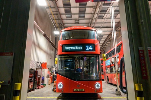 Abellio commence operation of TfL routes 24, 27 and 267